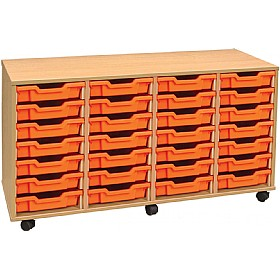 4Store 28 Tray Shallow Storage Unit