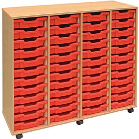 4Store 48 Tray Shallow Storage Unit