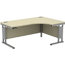 Accolade Height Adjustable Cantilever Ergonomic Desk