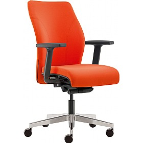 Pledge tas medium back custom task chair with arms cheap for Affordable furniture tas
