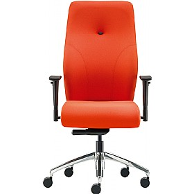 Pledge tas high back custom task chair with arms cheap for Affordable furniture tas