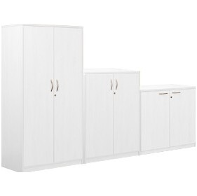 Next Day Vogue White Contract Cupboards