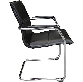 Essence Leather Faced Visitor Chair