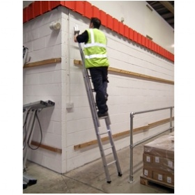 Lyte Industrial C Section Extension Ladders