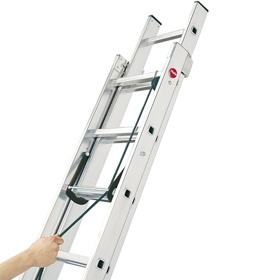 Hailo ProfiStep Duo Aluminium Rope Operated Ladder