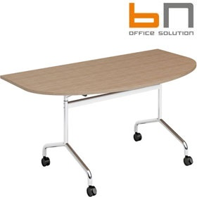 BN Flib Modular D-Shaped Folding Meeting Tables £299 -