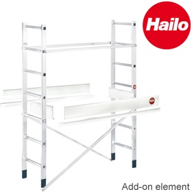Hailo ProfiStep Multi Aluminium Ladder Scaffold