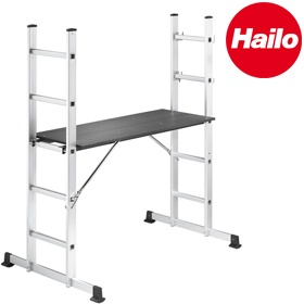 Hailo ProfiStep Multi Ladder Scaffolds