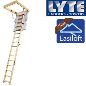 Lyte Easiloft Timber Loft Ladders