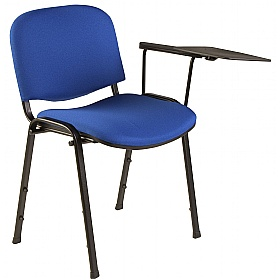 chair with writing tablet pack of 4 cheap iso conference chair