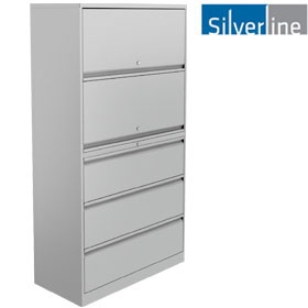 Silverline Combi:Store Flipper & Drawer Combination Units