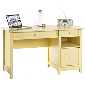 Sherbet Yellow Country Computer Desk