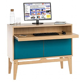 Contemporary Bureau Laptop Desk