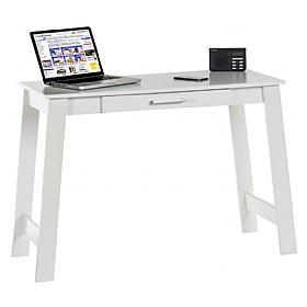 Decor White Laptop Desk
