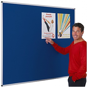 Aluminium Framed Felt Noticeboards