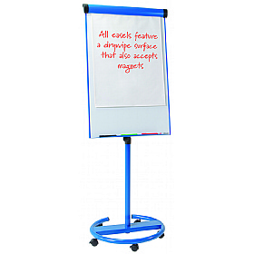 Ultimate Magnetic Mobile Flipchart Easel