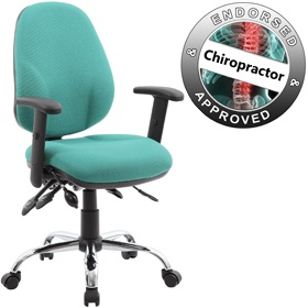 Fully Loaded Comfort Ergo Operator Chair
