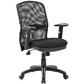 Cologne Mesh Manager Chair £79 - Office Furniture