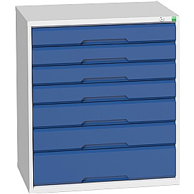 Bott Verso Drawer Cabinets - 800mm Wide x 900mm High - 7 Drawers £567 -