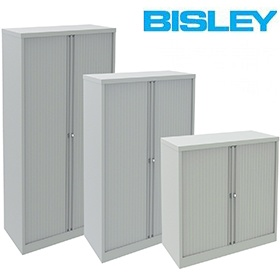 Bisley Side Opening Tambour Cupboards