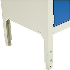 Bott Verso Storage Benches - 1250mm With Cupboard & Drawer