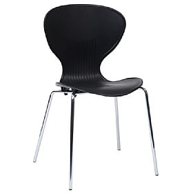 Curve Polypropylene Bistro Chair