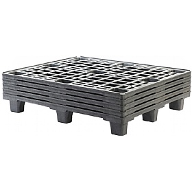 Palletower Large Nestable Plastic Pallet