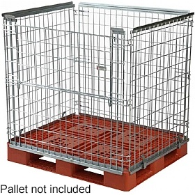 Palletower Stackable High Retention Units - One Way Access
