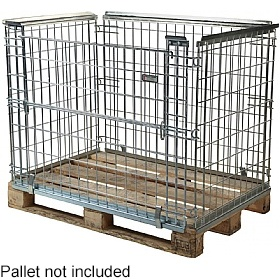 Palletower Stackable Euro Pallet Retention Unit