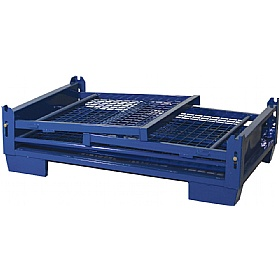 Palletower Gitterbox Collapsible Cage Pallet