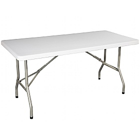 Atlantic Rectangular Poly Folding Tables