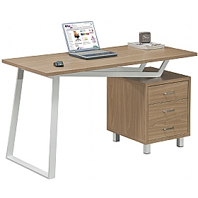 Oblique Computer Desk