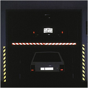 Hazard Warning Tape - Retro-Reflective
