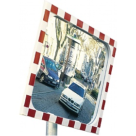 View Ultra Heated Traffic Mirror