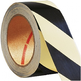 Luminous Hazard Warning Tape - Striped