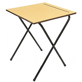 Essentials Folding Exam Desk Bundle - 25 Desks