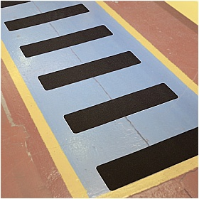 PROline Anti-Slip Tape - 10x Black Pre-Cut Blanks