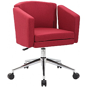 Jura Fabric Swivel Chair