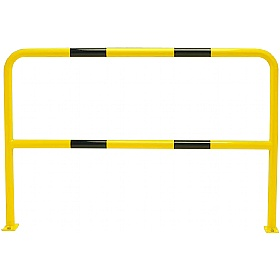 TRAFFIC-LINE Medium Duty Floor Fixed Steel Hoop Guards