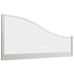 Lumiere Glazed Wave Desk Mounted Screens