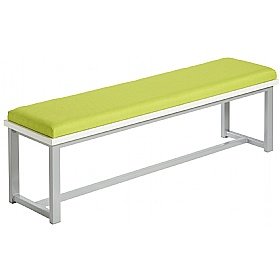 Unite Low Bench With Upholstered Seat