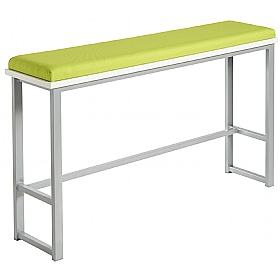 Unite High Bench With Upholstered Seat