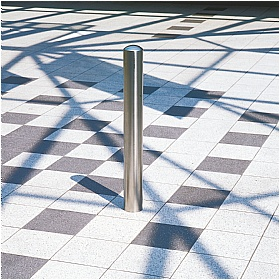 Chichester Removable Stainless Steel Bollards - Triangular Lock