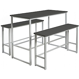 Unite Poseur Table and Bench Set