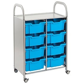 Gratnells Callero 8 Deep Tray 2 Column Storage Unit