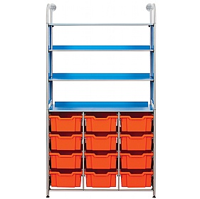 Gratnells Callero 12 Deep Tray Combination Storage Unit