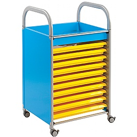 Gratnells Callero Art Storage Trolley With Trays