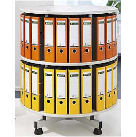 Table Top Rotary Filing System
