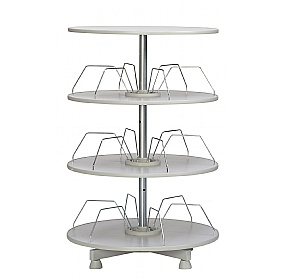 Rotary Filing Systems with Rotating Shelves