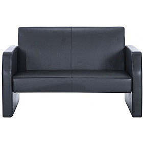 Rest Bonded Leather Two Seater Sofa